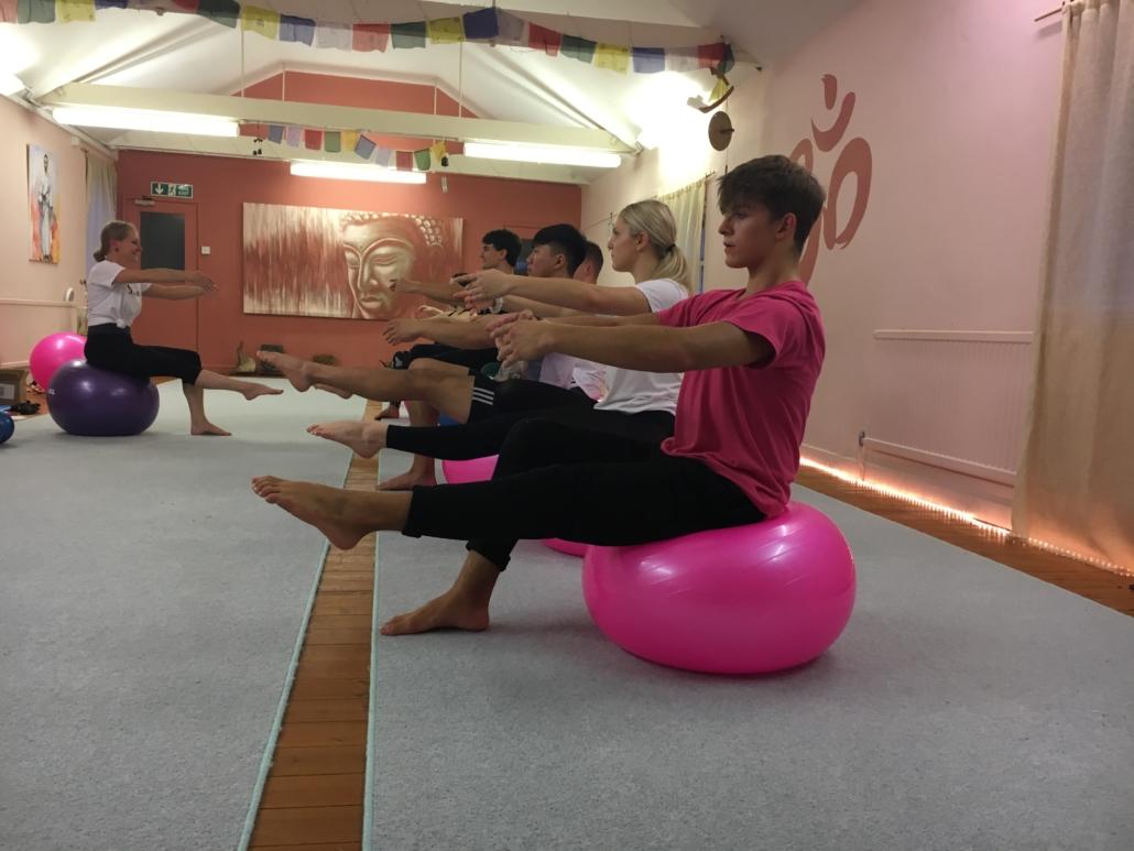Progressing ballet