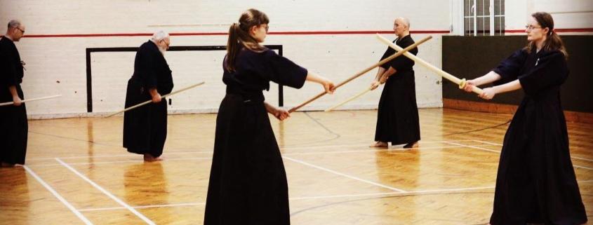 Jock Hopson Sensei at Musokan Dojo