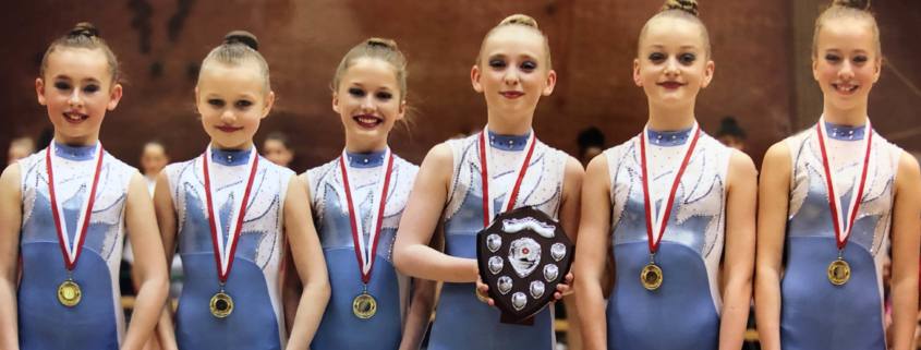 Dexterity Bluebells win Gold at County Championships
