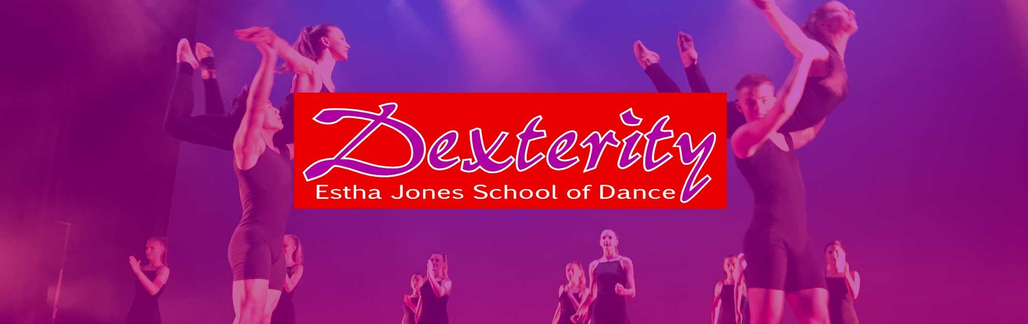Estha Jones School of Dance logo slide