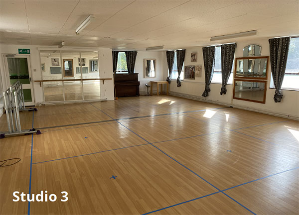 Studio 3 - COVID-compliant hire