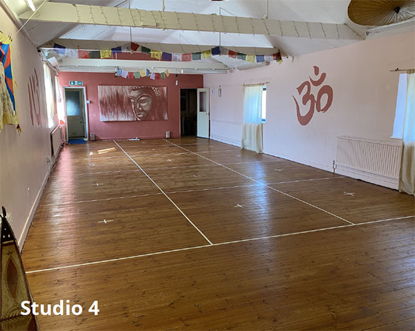 Studio 4 - COVID-compliant hire