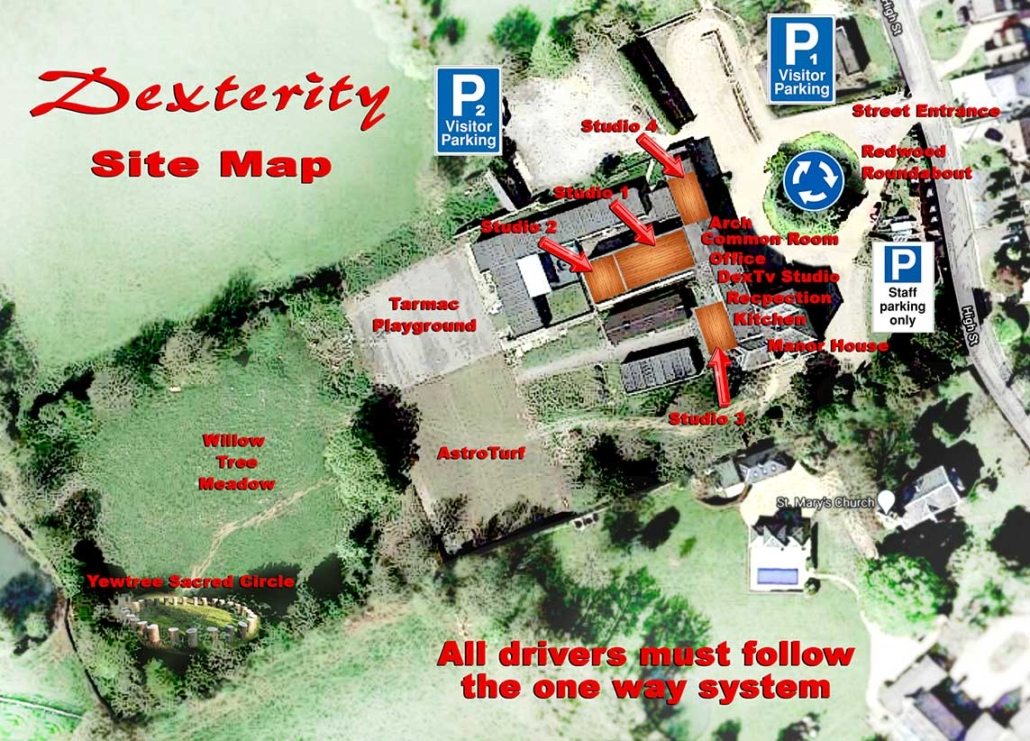 Dexterity Site Map