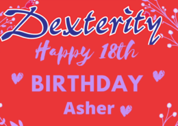 Happy 18th Birthday Asher