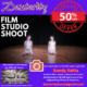 Professional Film Studio Shoot